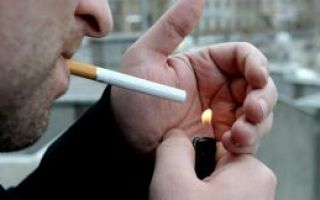 Постоянное курение делает мир«бесцветным»
