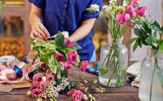 Выбор букета цветов
