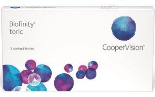 Особенности ношения контактных линз Cooper Vision