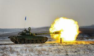 Танковый биатлон стартовал в Чечне