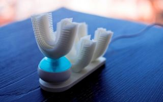 Первая в мире автоматическая зубная щётка Amabrush