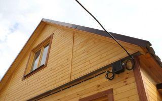Проведение электромонтажа при подключении электричества к дому