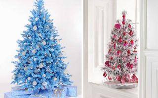Голубая ёлка на Новый год. Основные преимущества