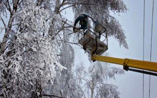 Электроснабжение Адыгеи нарушила непогода