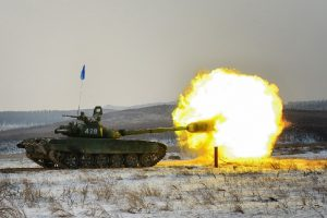 танковый биатлон - Чечня