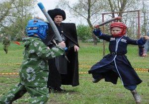 игры казаков провела Северная Осетия